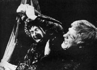 Alan Howard as Edgar and Norman Rodway as Edmund, RSC 1968
