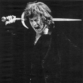 Alan Howard as Hamlet