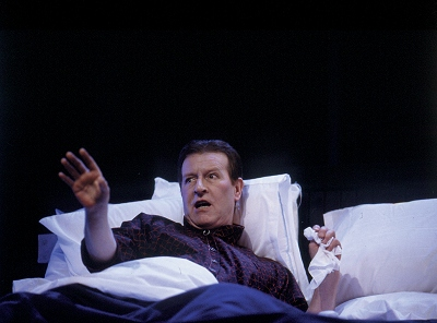 "Alan Howard as Gabriel in ""Gates of Gold"" at the Gate"